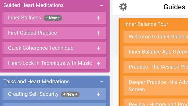 Inner Balance Guides