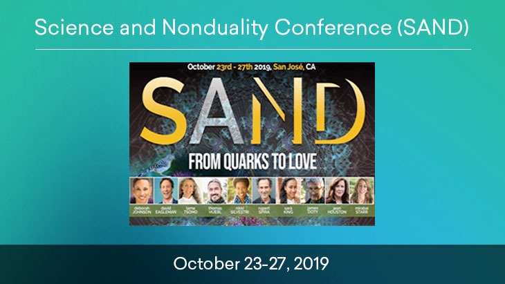 Science and Nonduality Conference (SAND) Conference Banner